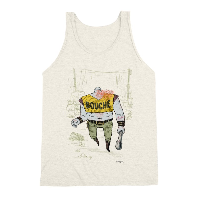 LA BOUCHE! Men's Triblend Tank by Dustin Harbin's Sweet T's!