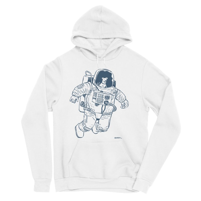 DOG STAR Men's Sponge Fleece Pullover Hoody by Dustin Harbin's Sweet T's!