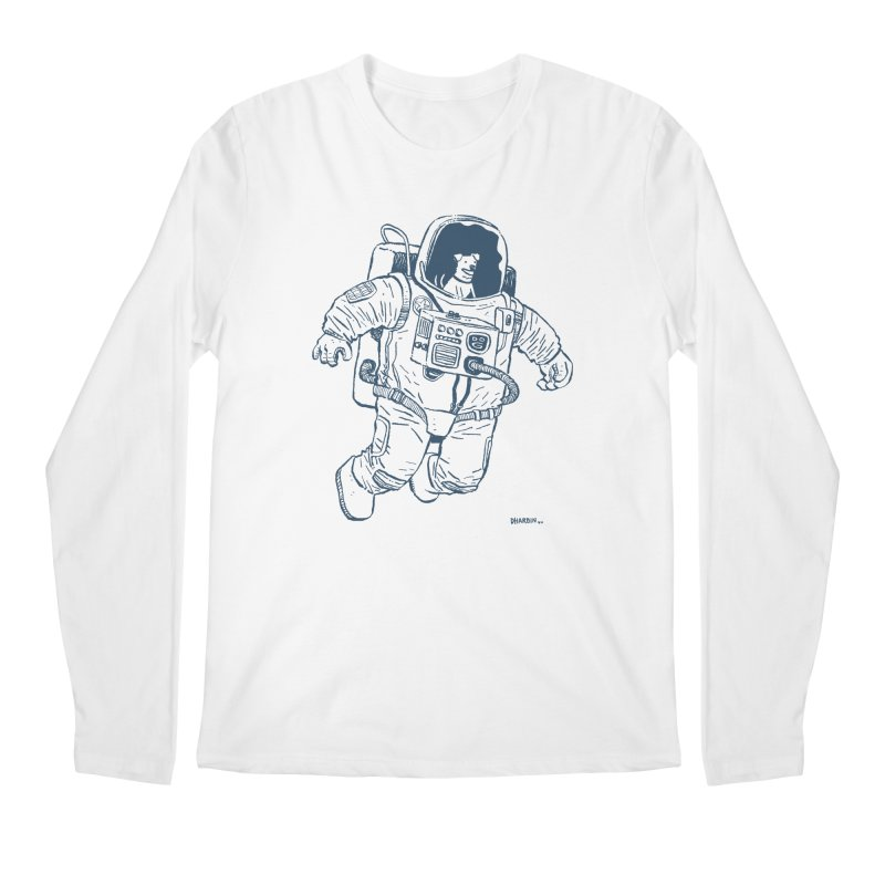 DOG STAR Men's Regular Longsleeve T-Shirt by Dustin Harbin's Sweet T's!