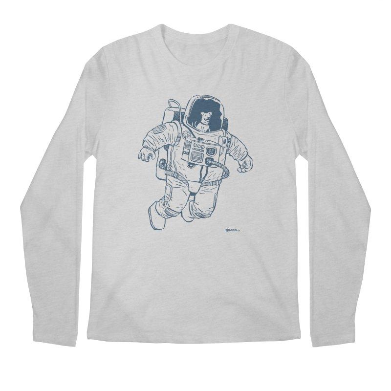 DOG STAR Men's Regular Longsleeve T-Shirt by Dustin Harbin's Sweet T's!