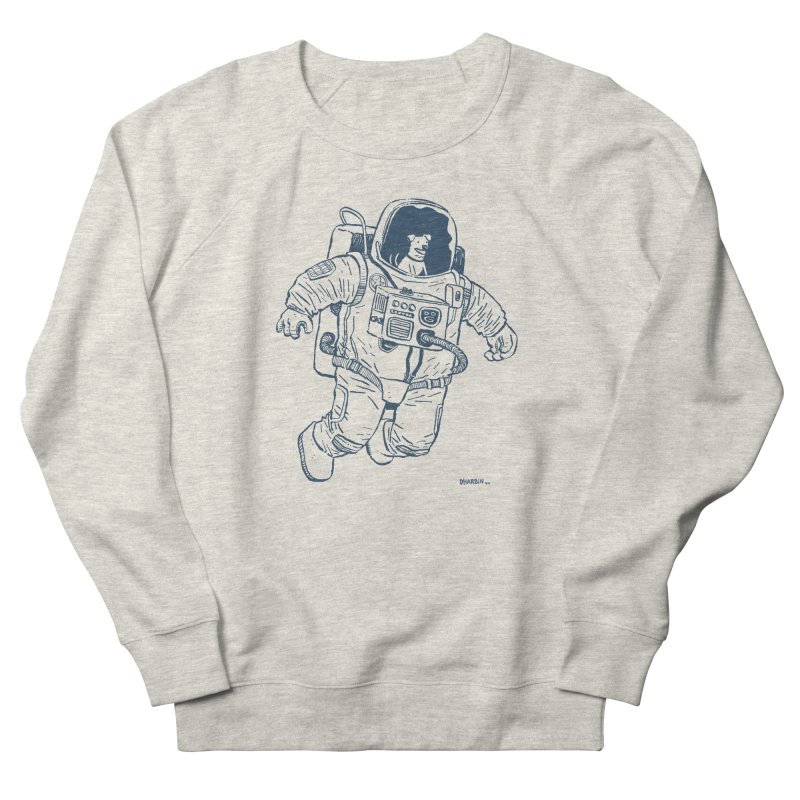 DOG STAR Men's French Terry Sweatshirt by Dustin Harbin's Sweet T's!