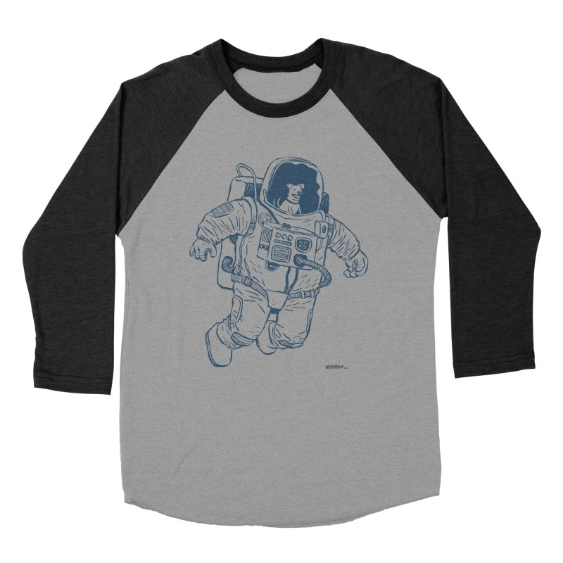 DOG STAR Men's Baseball Triblend Longsleeve T-Shirt by Dustin Harbin's Sweet T's!