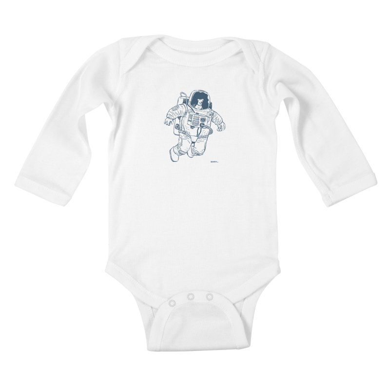 DOG STAR Kids Baby Longsleeve Bodysuit by Dustin Harbin's Sweet T's!