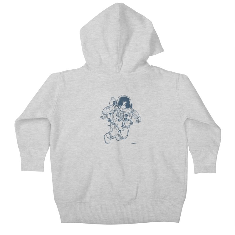 DOG STAR Kids Baby Zip-Up Hoody by Dustin Harbin's Sweet T's!
