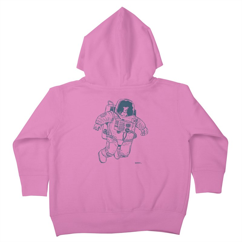 DOG STAR Kids Toddler Zip-Up Hoody by Dustin Harbin's Sweet T's!