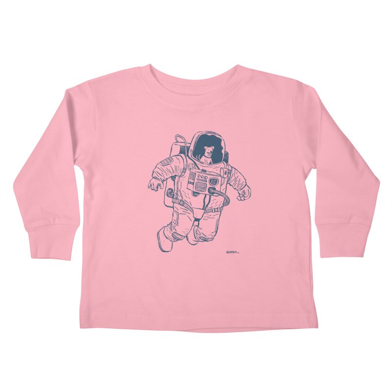 DOG STAR Kids Toddler Longsleeve T-Shirt by Dustin Harbin's Sweet T's!