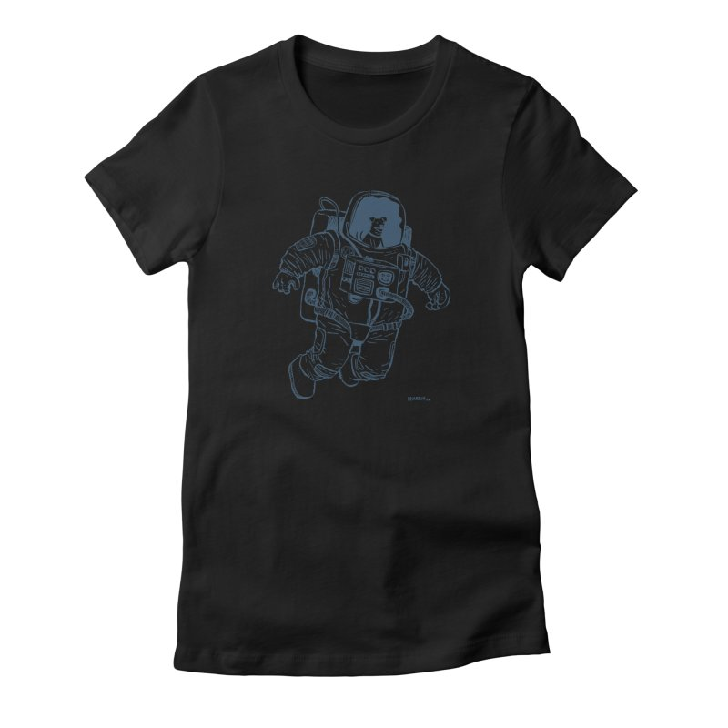 DOG STAR Women's Fitted T-Shirt by Dustin Harbin's Sweet T's!