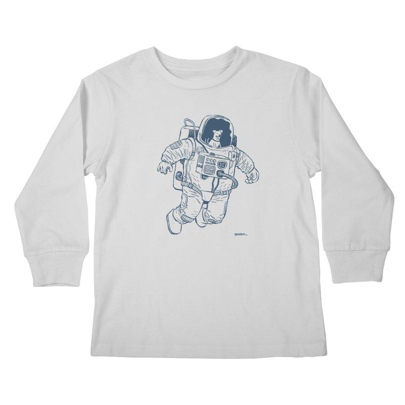 DOG STAR Kids Longsleeve T-Shirt by Dustin Harbin's Sweet T's!