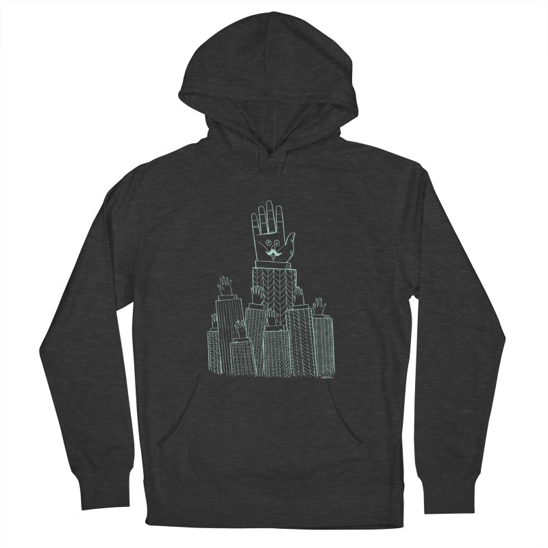 I'M HERE!! (Light Ink For Dark Shirts) Women's French Terry Pullover Hoody by Dustin Harbin's Sweet T's!