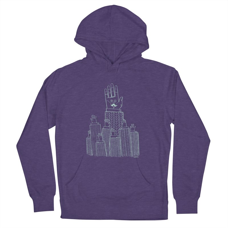 I'M HERE!! (Light Ink For Dark Shirts) Women's Pullover Hoody by Dustin Harbin's Sweet T's!