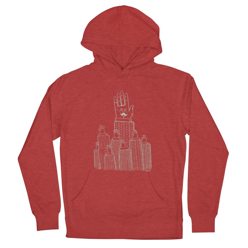 I'M HERE!! (Light Ink For Dark Shirts) Men's Pullover Hoody by Dustin Harbin's Sweet T's!