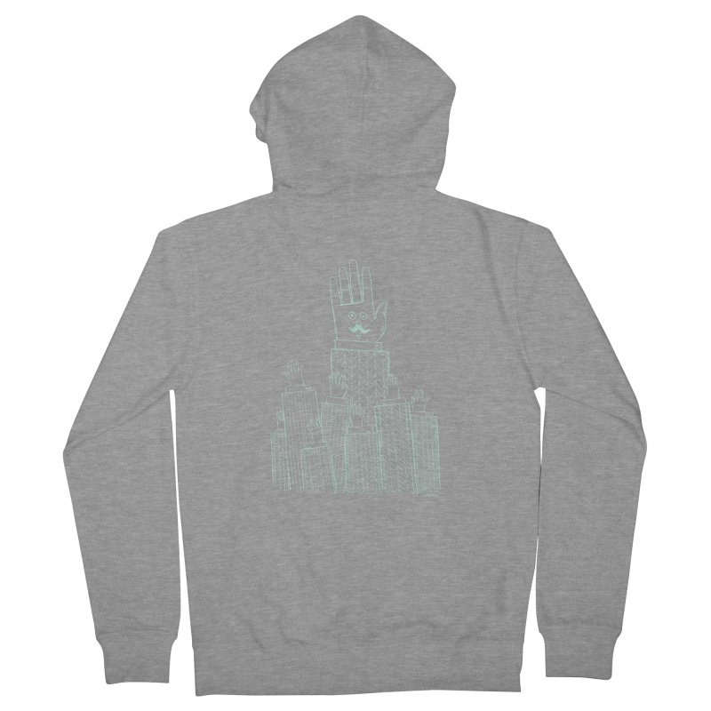 I'M HERE!! (Light Ink For Dark Shirts) Women's Zip-Up Hoody by Dustin Harbin's Sweet T's!