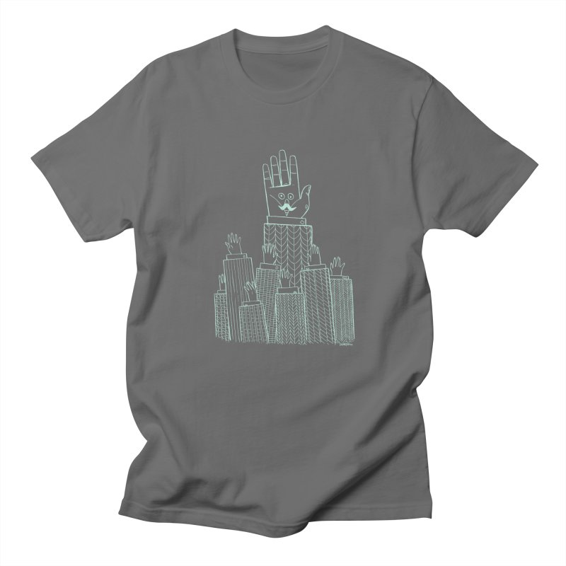 I'M HERE!! (Light Ink For Dark Shirts) Men's Regular T-Shirt by Dustin Harbin's Sweet T's!