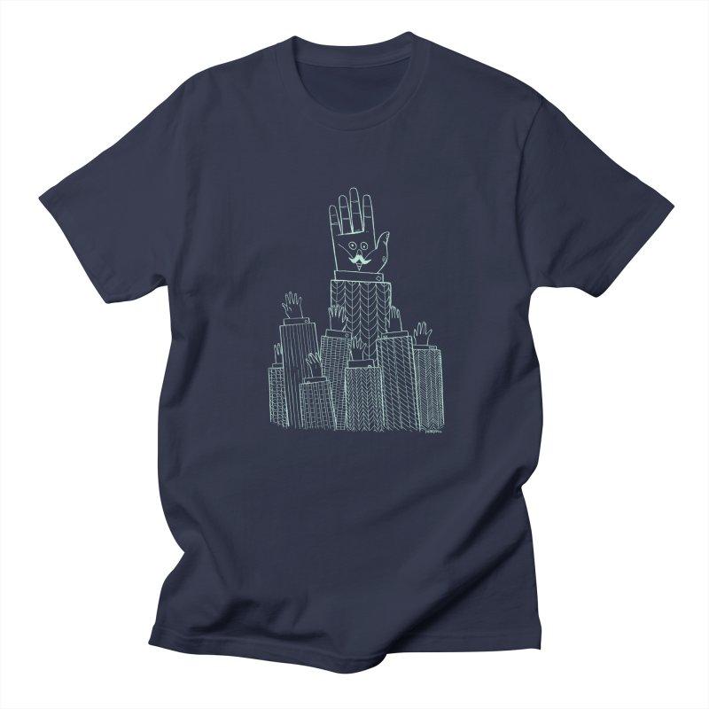 I'M HERE!! (Light Ink For Dark Shirts) Men's Regular T-Shirt by Dustin Harbin's Sweet T's!