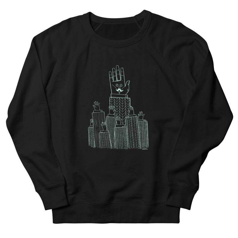 I'M HERE!! (Light Ink For Dark Shirts) Men's Sweatshirt by Dustin Harbin's Sweet T's!