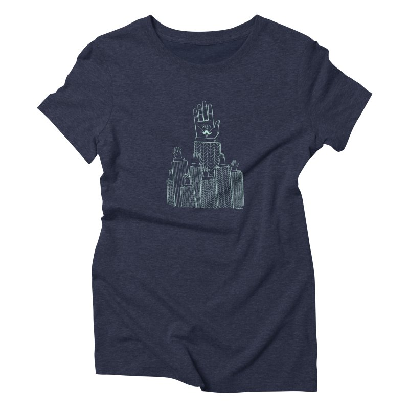 I'M HERE!! (Light Ink For Dark Shirts) Women's T-Shirt by Dustin Harbin's Sweet T's!