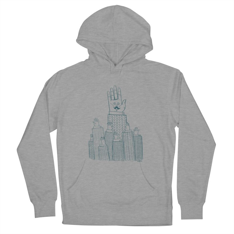 I'M HERE!! (For Light Shirts) Men's French Terry Pullover Hoody by Dustin Harbin's Sweet T's!