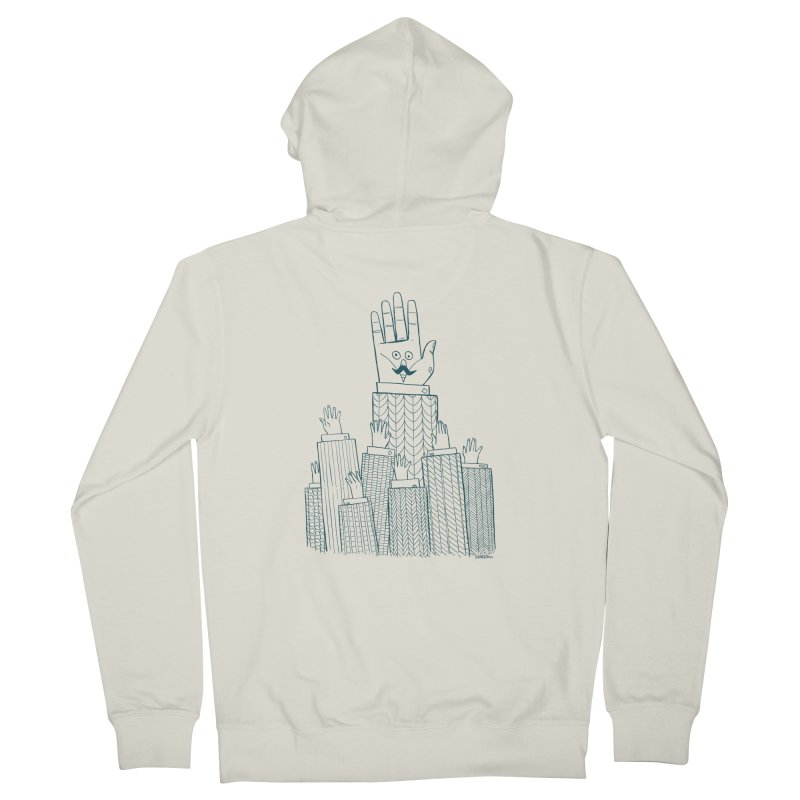 I'M HERE!! (For Light Shirts) Women's Zip-Up Hoody by Dustin Harbin's Sweet T's!