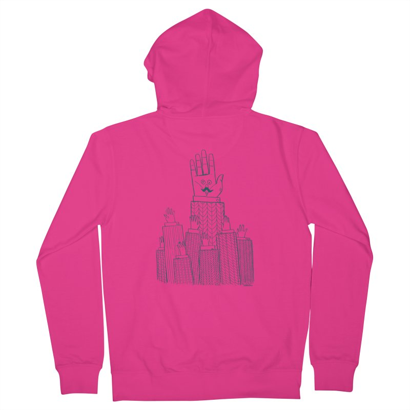 I'M HERE!! (For Light Shirts) Men's Zip-Up Hoody by Dustin Harbin's Sweet T's!