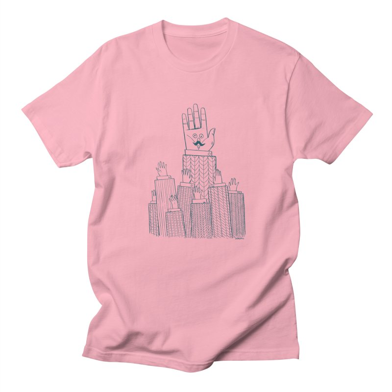 I'M HERE!! (For Light Shirts) Men's Regular T-Shirt by Dustin Harbin's Sweet T's!
