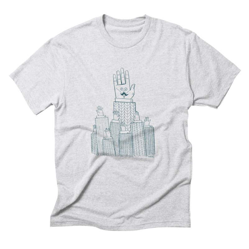 I'M HERE!! (For Light Shirts) Men's Triblend T-Shirt by Dustin Harbin's Sweet T's!