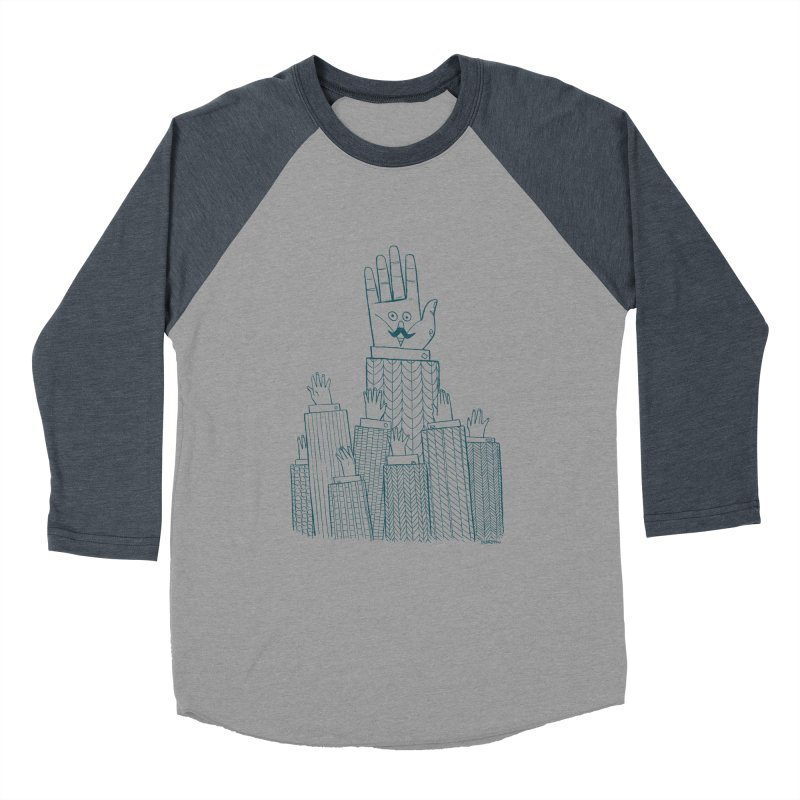 I'M HERE!! (For Light Shirts) Men's Baseball Triblend Longsleeve T-Shirt by Dustin Harbin's Sweet T's!