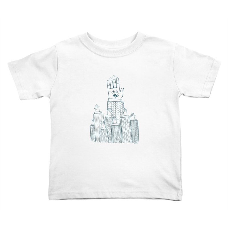 I'M HERE!! (For Light Shirts) Kids Toddler T-Shirt by Dustin Harbin's Sweet T's!
