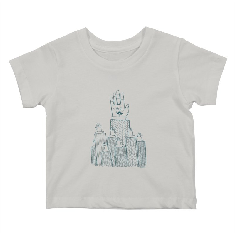 I'M HERE!! (For Light Shirts) Kids Baby T-Shirt by Dustin Harbin's Sweet T's!