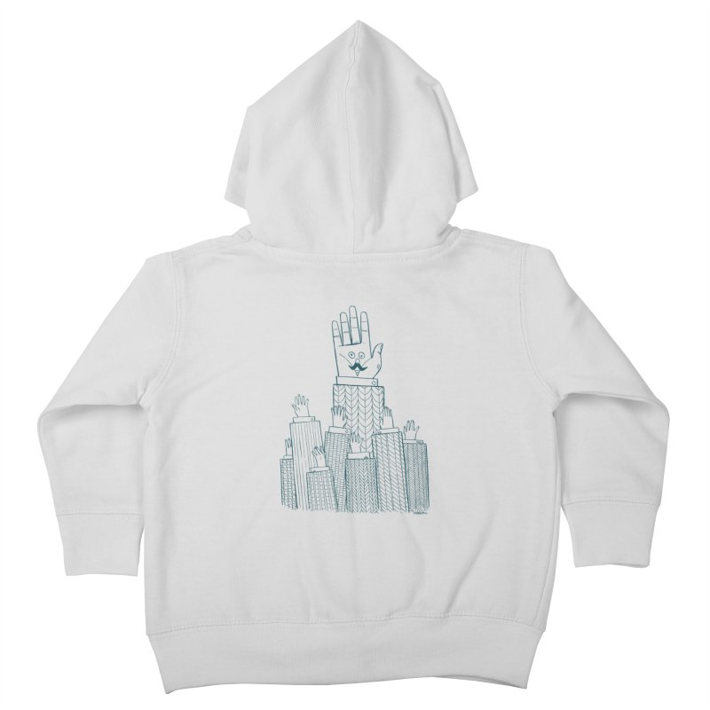 I'M HERE!! (For Light Shirts) Kids Toddler Zip-Up Hoody by Dustin Harbin's Sweet T's!