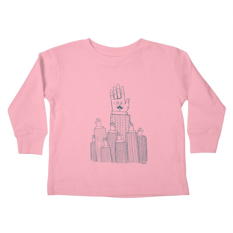I'M HERE!! (For Light Shirts) Kids Toddler Longsleeve T-Shirt by Dustin Harbin's Sweet T's!