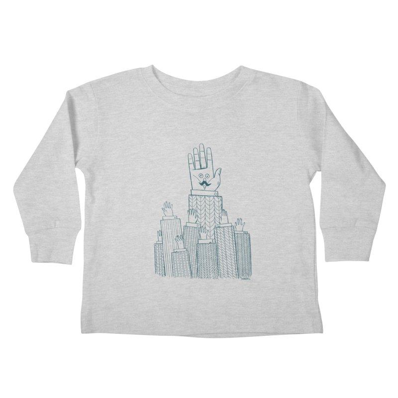 I'M HERE!! (For Light Shirts) Kids Toddler Longsleeve T-Shirt by Dustin Harbin's Sweet T's!