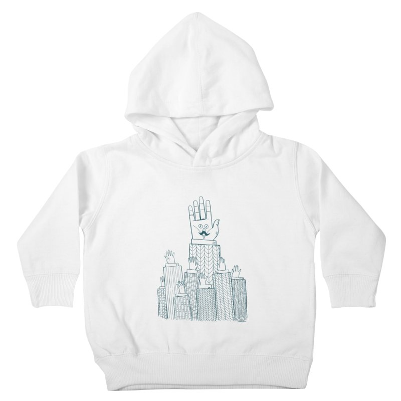 I'M HERE!! (For Light Shirts) Kids Toddler Pullover Hoody by Dustin Harbin's Sweet T's!