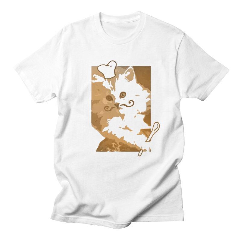 The cook cat Men's T-Shirt by dharry's Artist Shop