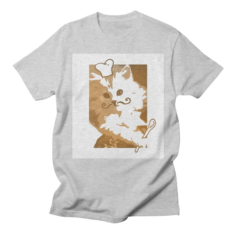 The cook cat Men's T-Shirt by dharry's Artist Shop