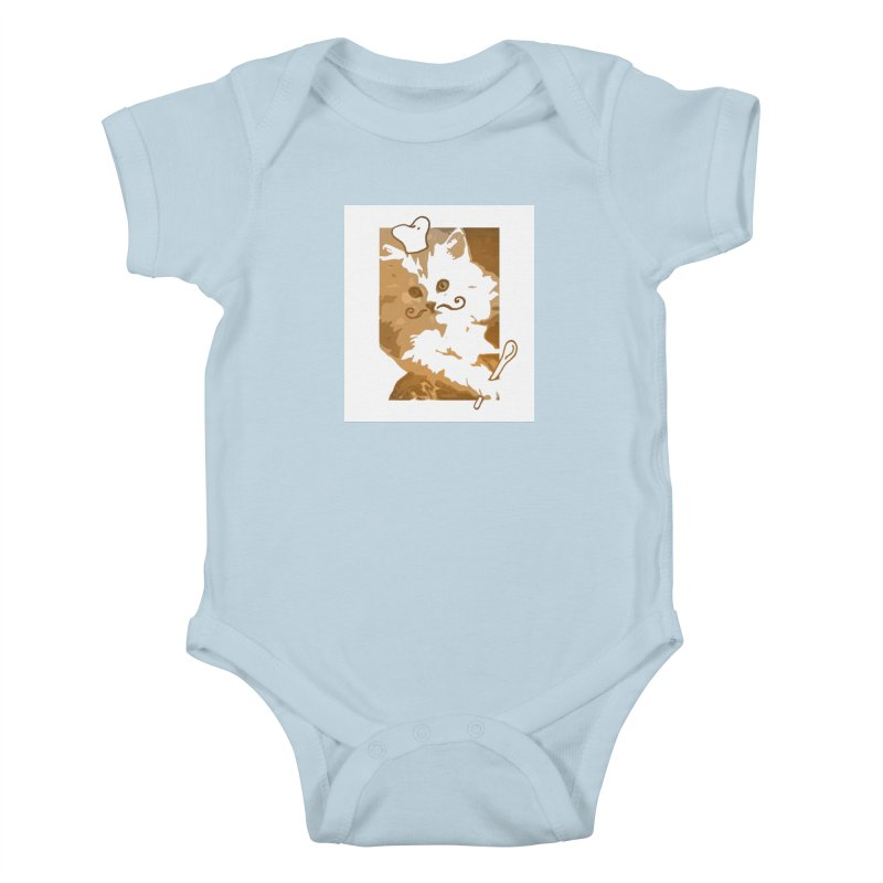 The cook cat Kids Baby Bodysuit by dharry's Artist Shop