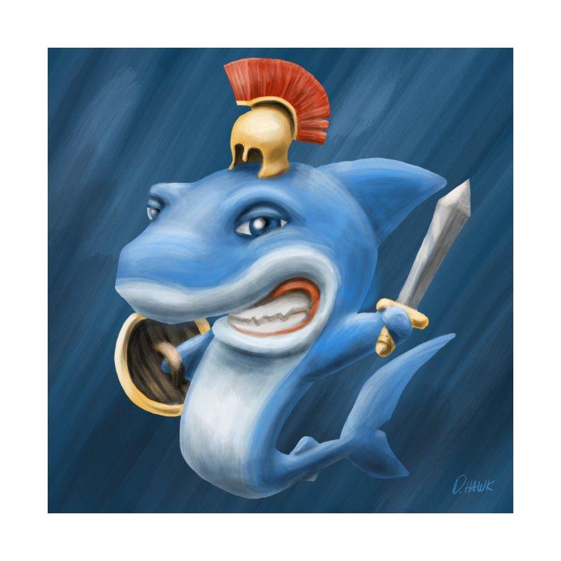 Shark Gladiator by D.Hawk Toons