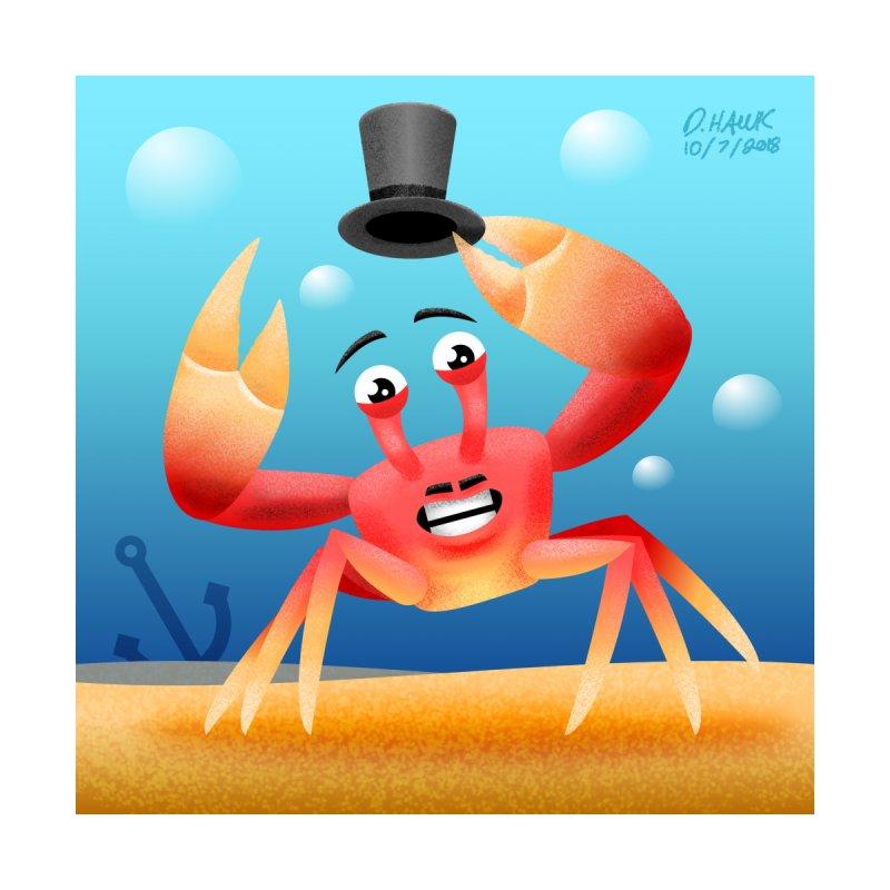 Dapper Crab by D.Hawk Toons