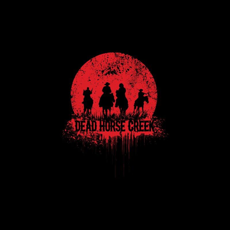 Dead Horse Creek Silhouette logo by Dead Horse Creek Merch