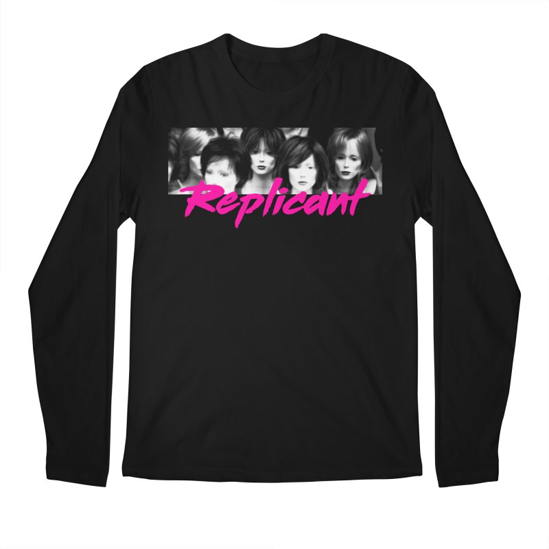 Replicant #1 Men's Regular Longsleeve T-Shirt by Dia Lacina
