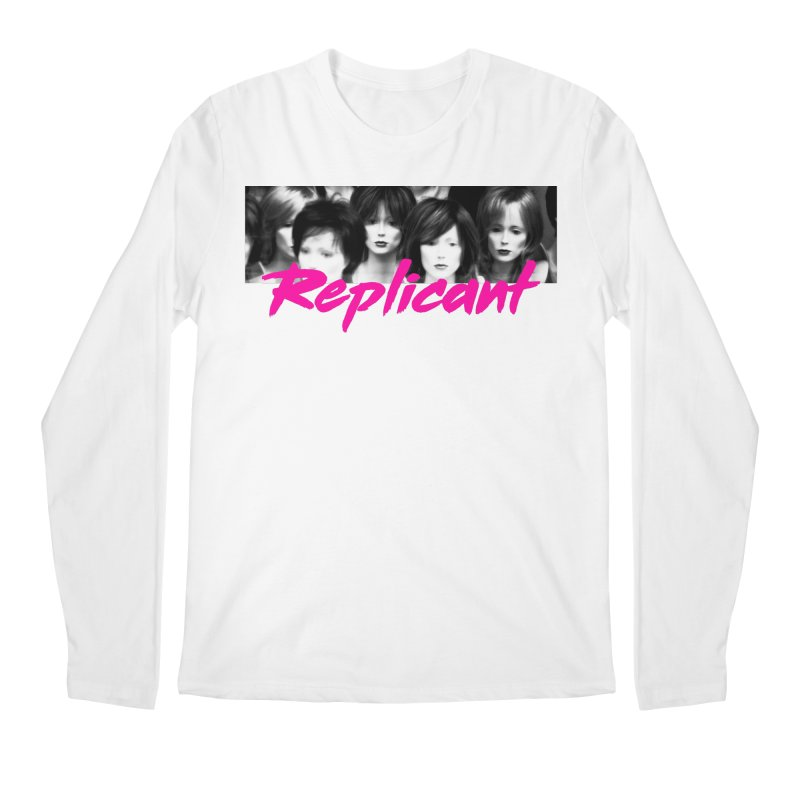 Replicant #1 Men's Regular Longsleeve T-Shirt by Dia Lacina