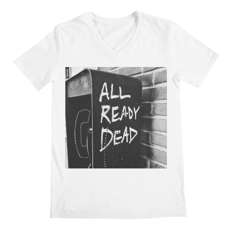 All Ready Dead Men's V-Neck by Dia Lacina