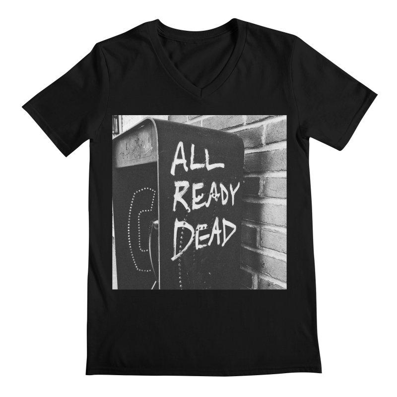 All Ready Dead Men's Regular V-Neck by Dia Lacina