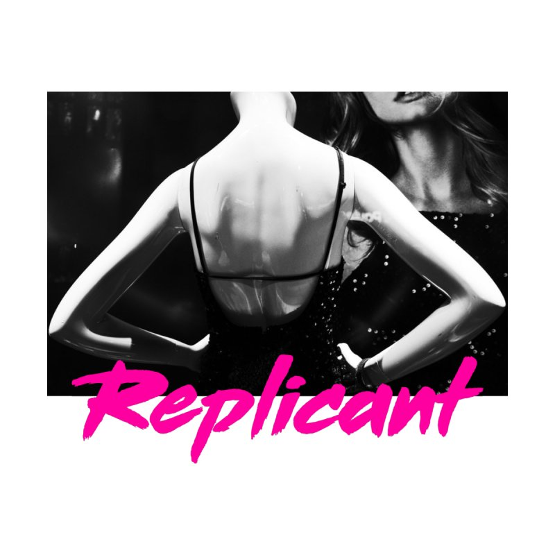 Replicant #2 Women's V-Neck by Dia Lacina