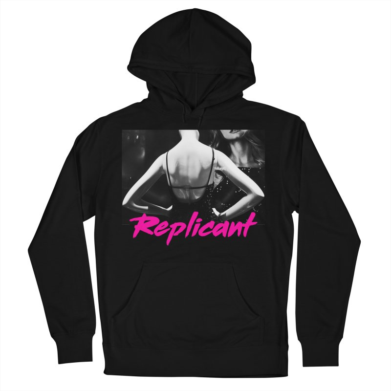 Replicant #2 Men's French Terry Pullover Hoody by Dia Lacina