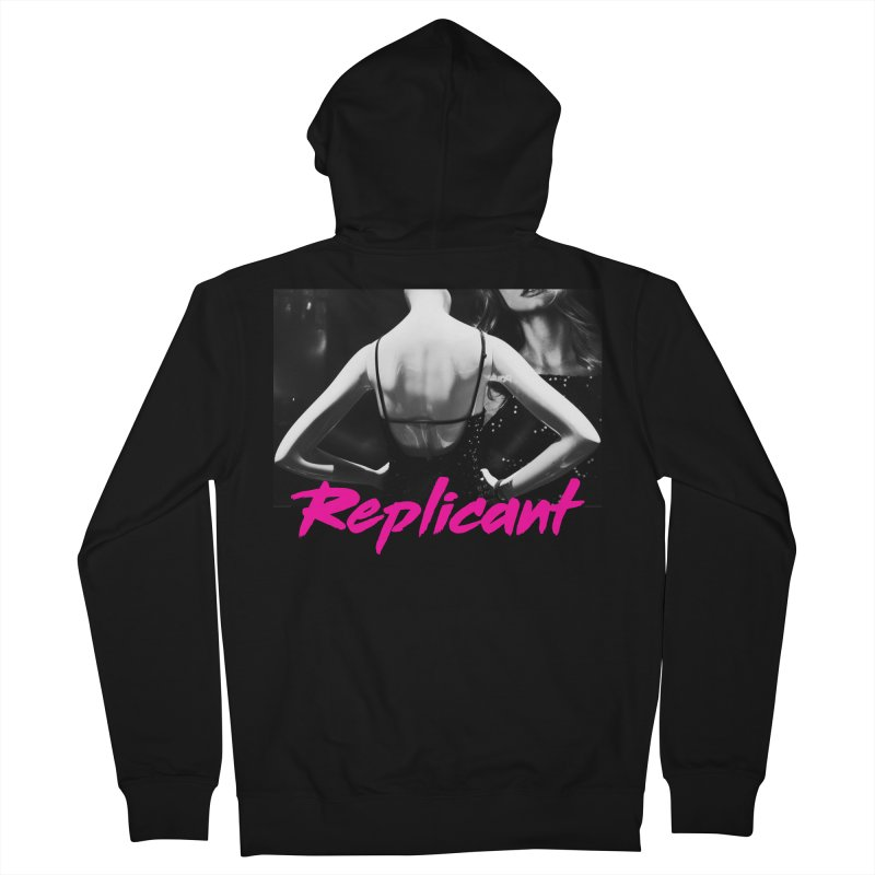 Replicant #2 Men's French Terry Zip-Up Hoody by Dia Lacina