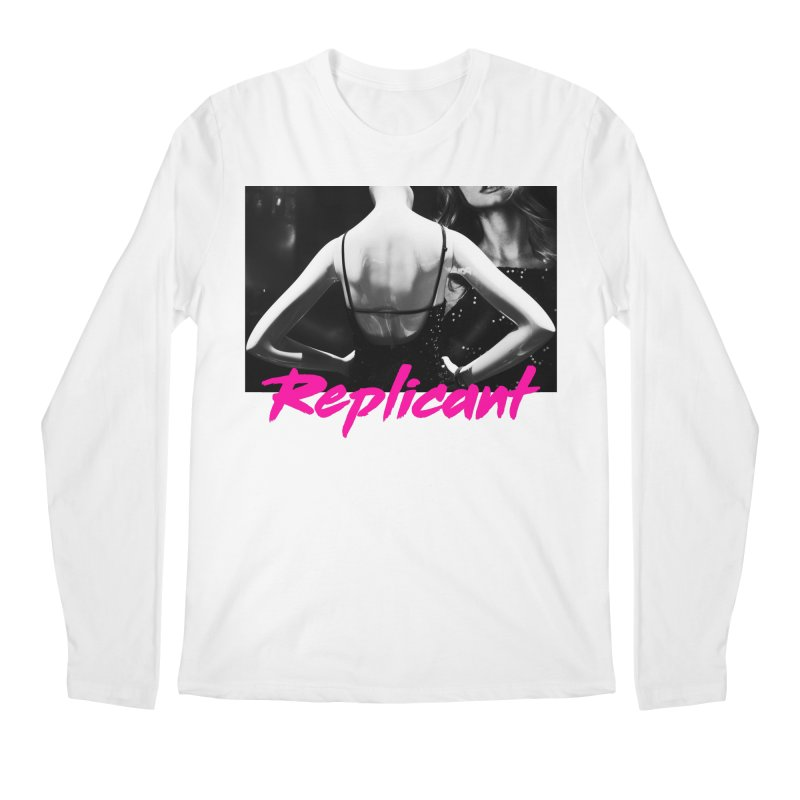 Replicant #2 Men's Regular Longsleeve T-Shirt by Dia Lacina