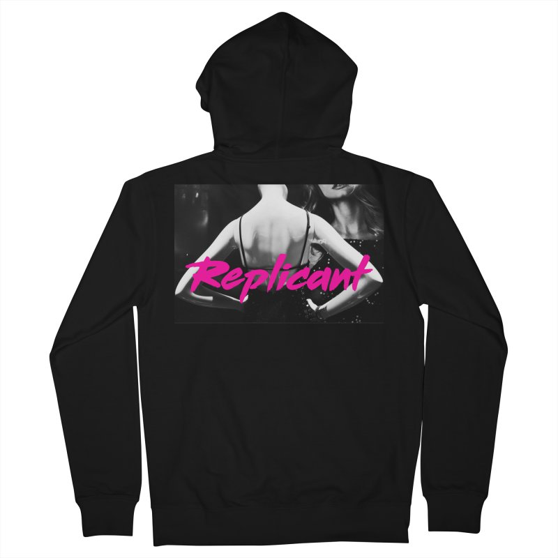 Replicant #2 (Ver. 2) Men's French Terry Zip-Up Hoody by Dia Lacina