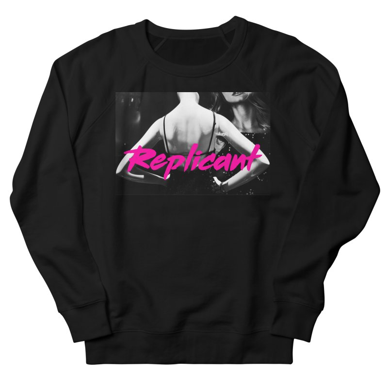 Replicant #2 (Ver. 2) Men's French Terry Sweatshirt by Dia Lacina