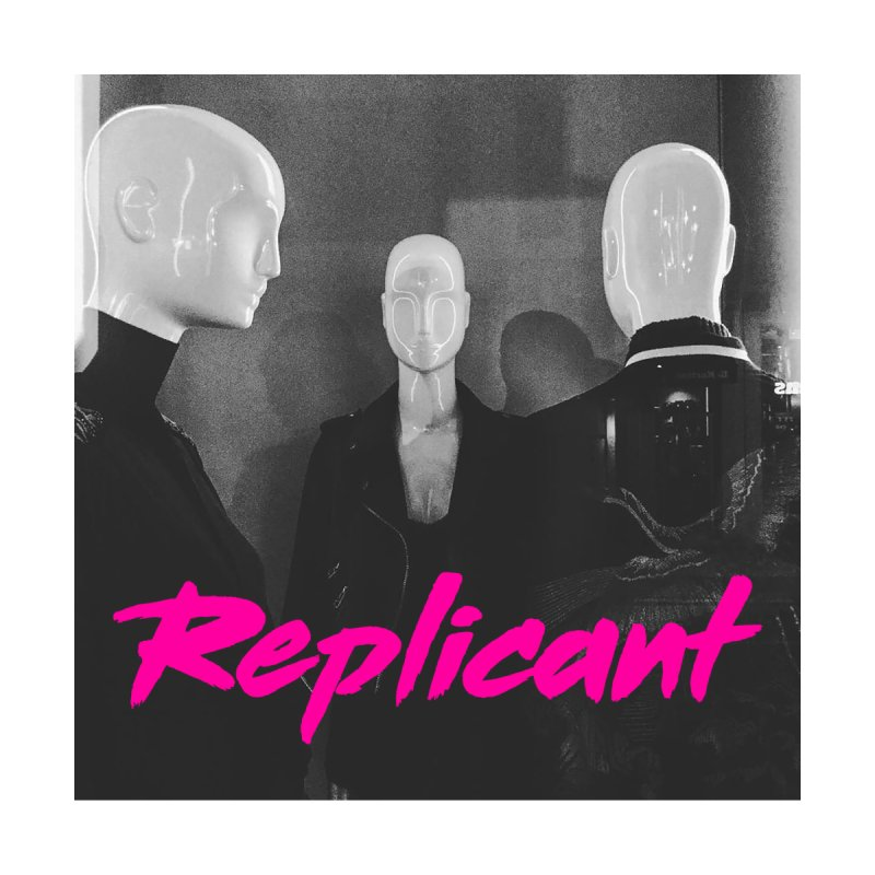 Replicant Trio #1 Men's Zip-Up Hoody by Dia Lacina