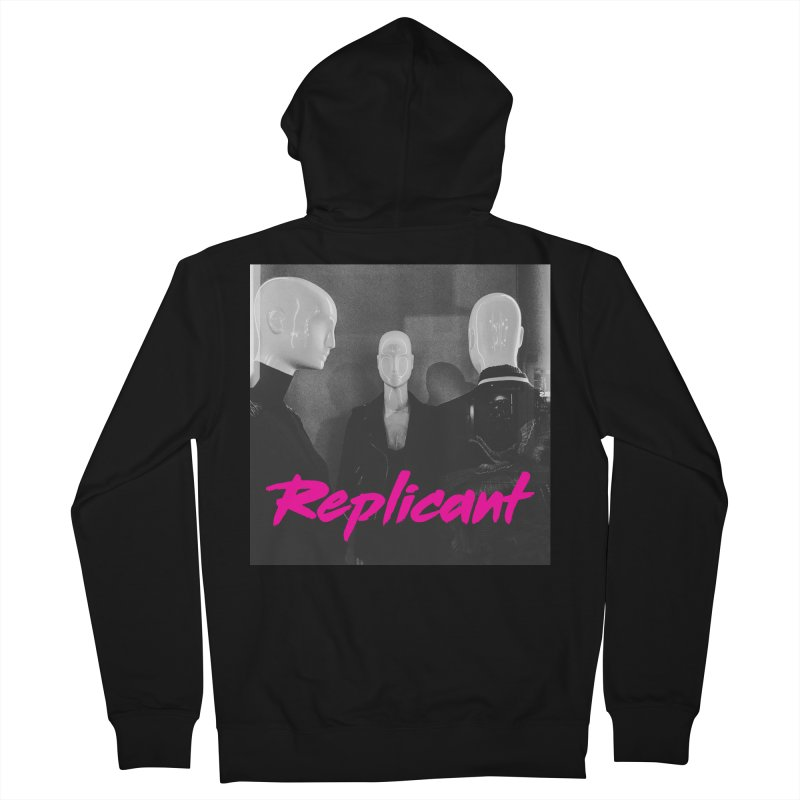 Replicant Trio #1 Women's Zip-Up Hoody by Dia Lacina